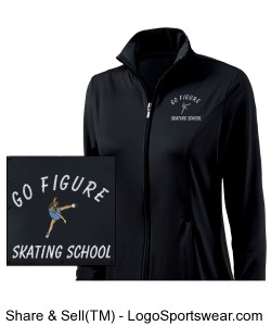 Girls Fitness Jacket by Charles River Apparel  Design Zoom
